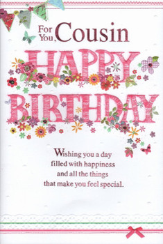 Birday Greetings To Cousin Girl Images Greeting Card Exam...