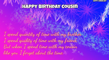 Happy Birday Wishes for Cousin Quotes Images amp Memes Ha...