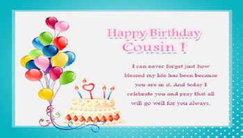 Happy Birday Wishes For Cousin Allupdatehere