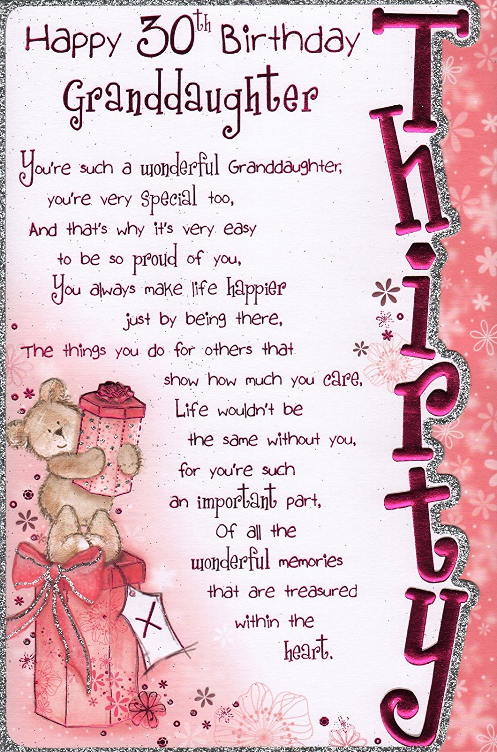 Granddaughter Birday Card Happy
