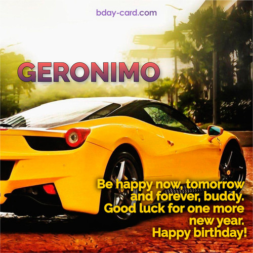 Birthday photos for Geronimo with Wheelbarrow