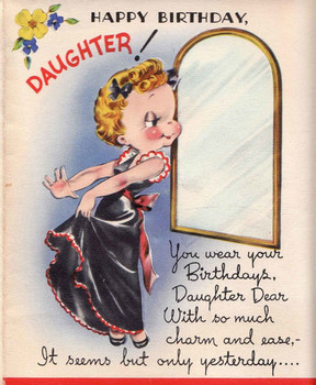 Wear A Crown Funny Birday Card For Daughter