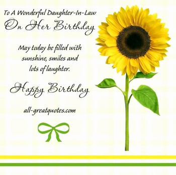 Happy Birday Quotes For Daughter In Law Best Of Birday Wi Happy