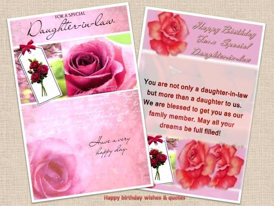 Astonishing Happy Birthday Daughter In Law Images Free Bday Cards And Funny Birthday Cards Online Elaedamsfinfo