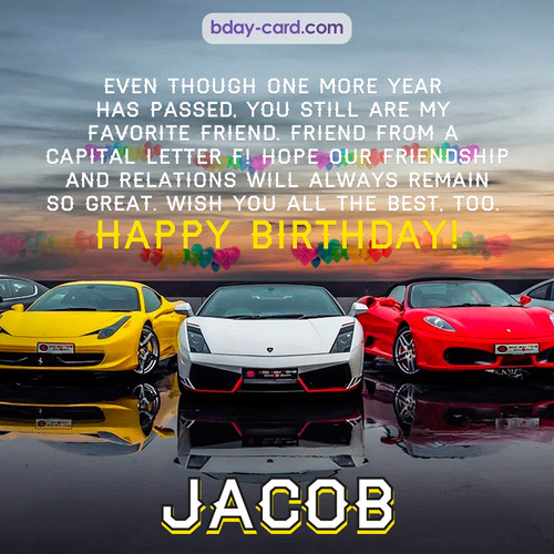 Birthday pics for Jacob with Sports cars