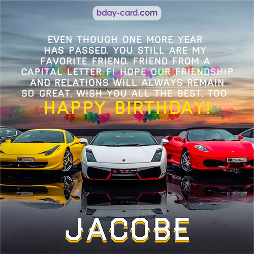 Birthday pics for Jacobe with Sports cars