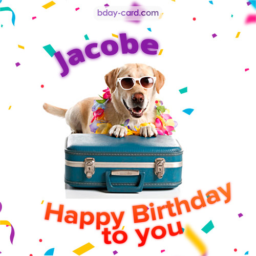 Funny Birthday pictures for Jacobe