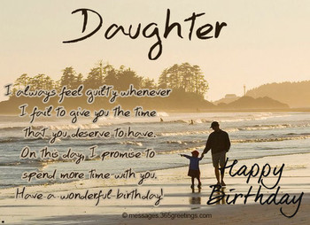 Birday Wishes for Daughter