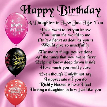Inspiration Images of Special Birday Wishes for Daughter in