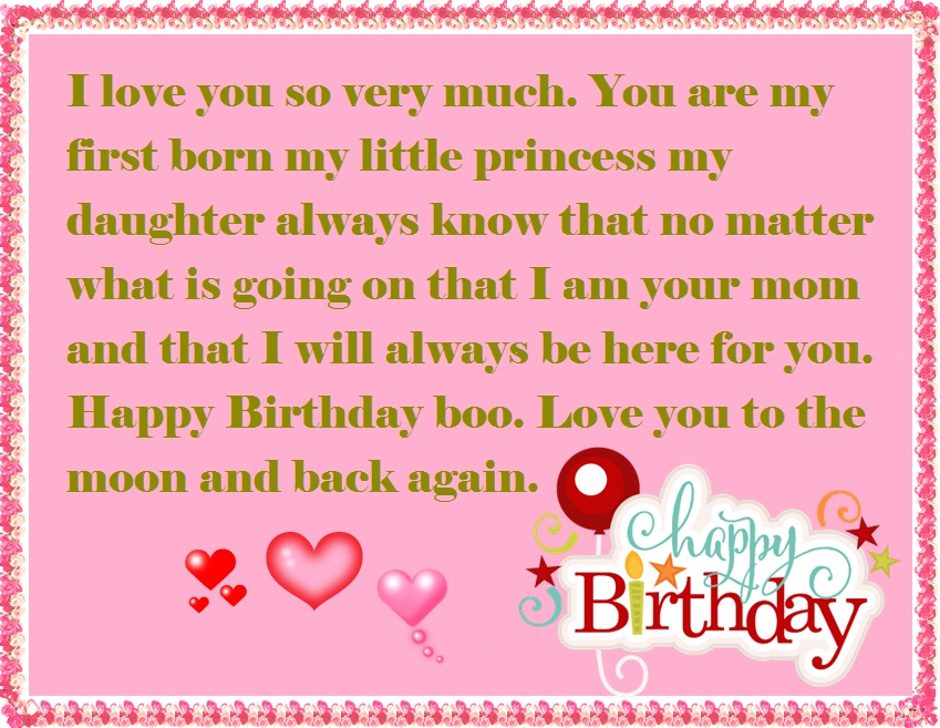 Happy Birthday wishes with Images for Daughter💐 - Free bday cards