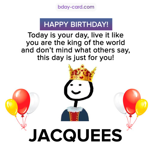 Happy Birthday Meme for Jacquees