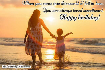 Birday Wishes for Daughters and Sons Birday Messages
