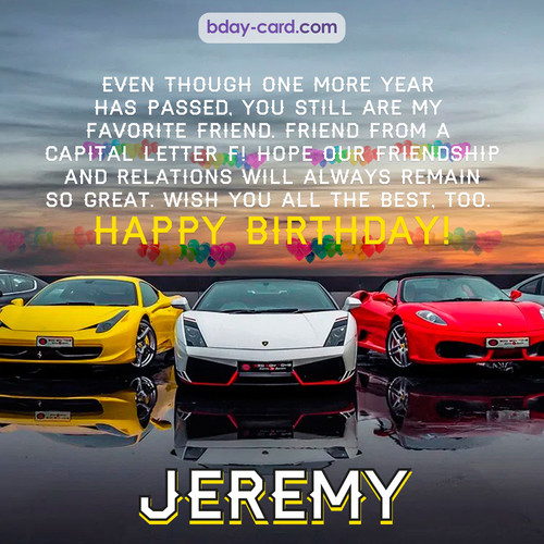 Birthday pics for Jeremy with Sports cars