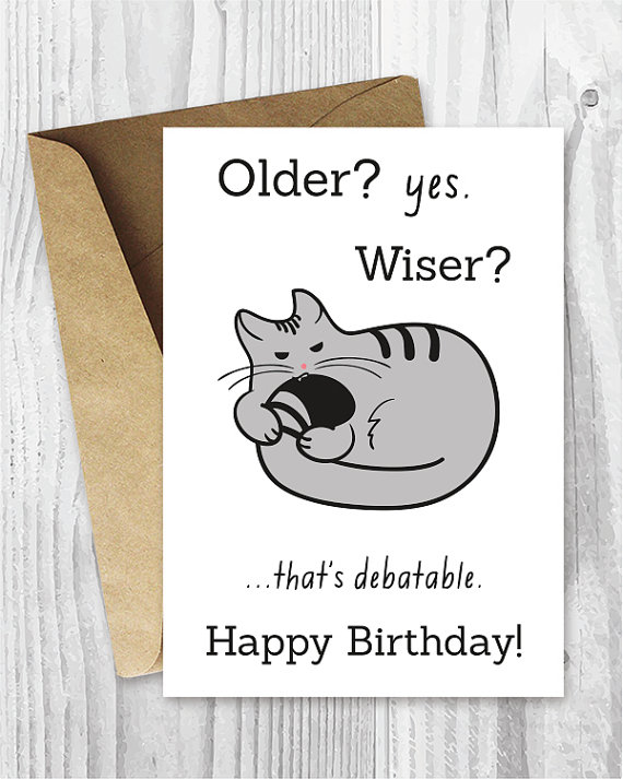 Happy birthday cards funny printable birthday cards funny