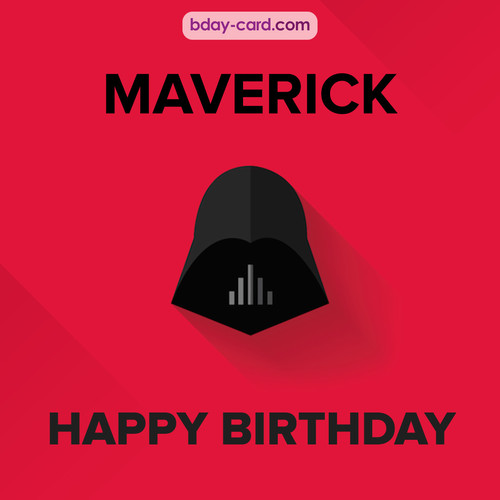 Happy Birthday pictures for Maverick with Darth Vader