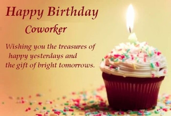 Birthday Wishes Colleague Greetings Pictures Wis