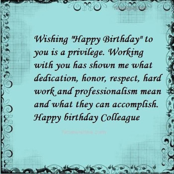 Birthday wishes colleague wishes greetings pictures – wis...