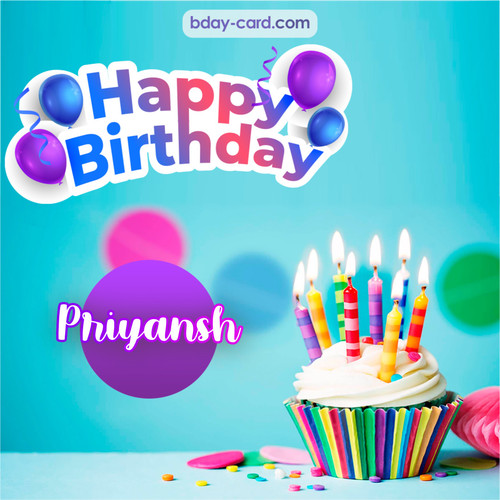 Birthday photos for Priyansh with Cupcake
