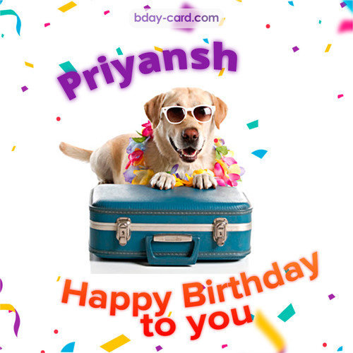 Funny Birthday pictures for Priyansh