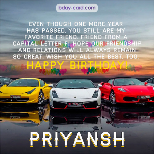 Birthday pics for Priyansh with Sports cars