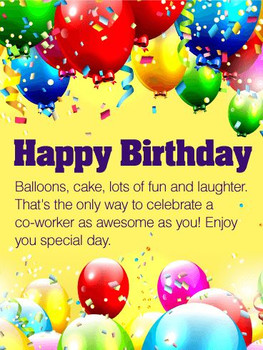 Best birthday cards for co workers images on pinterest co